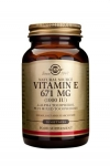 Solgar Vitamin E 671 mg (1000iu) 50 Vegetable Softgels