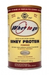 Solgar Whey To Go Protein Powder (Natural Vanilla) 340g