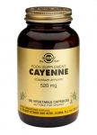 Solgar Cayenne 520mg 100 Capsules
