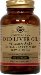 Solgar Norwegian Cod Liver Oil 250 Softgels