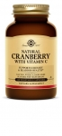 Solgar Natural Cranberry With Vitamin C 60 Capsules