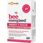 Unbeelievable Bee Energised Energy & Focus 20 Capsules