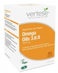 Vertese Omega Oils 3+6+9 (1000mg) 60 Capsules