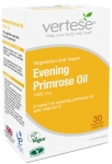 Vertese Evening Primrose Oil 1000mg 30 Capsules